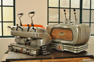 old espresso machines