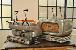 old espresso machines