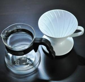 Filter coffee pot for one
